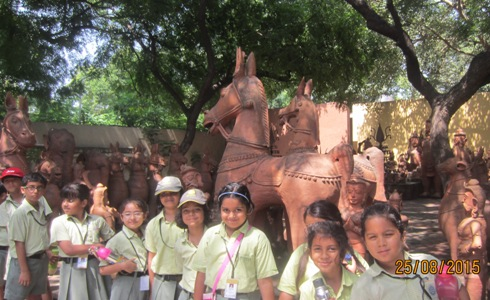 Classes III A and III B Visit to the National Crafts Museum New Delhi