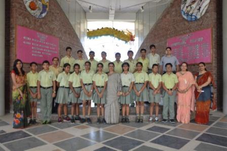 CLASS PHOTOGRAPH- Class VIII A