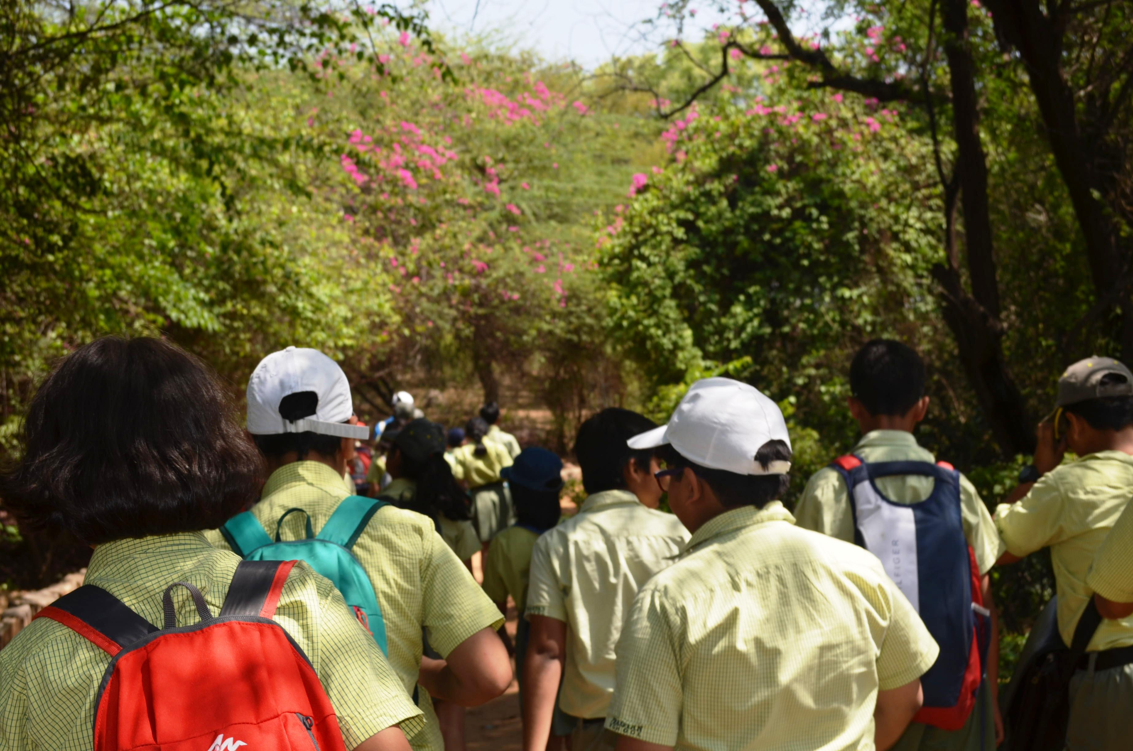 An educational outing to Sanjay Van on 13th April 2018