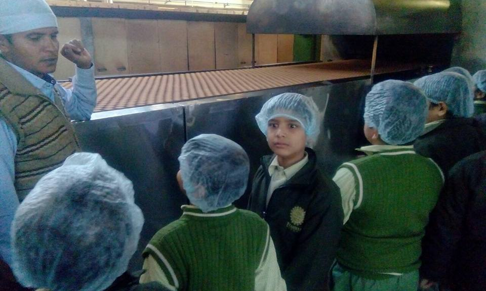 Educational Outing to Biscuit Factory