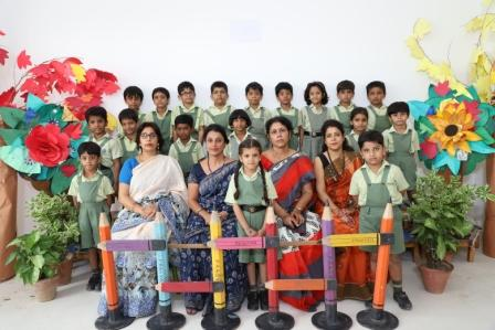 CLASS PHOTOGRAPH- Class I-A, I-B &I-C