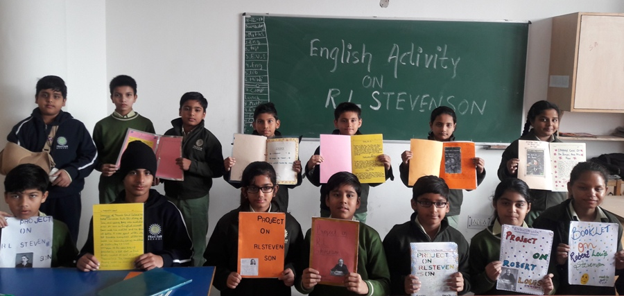 English Activity on Booklet Making