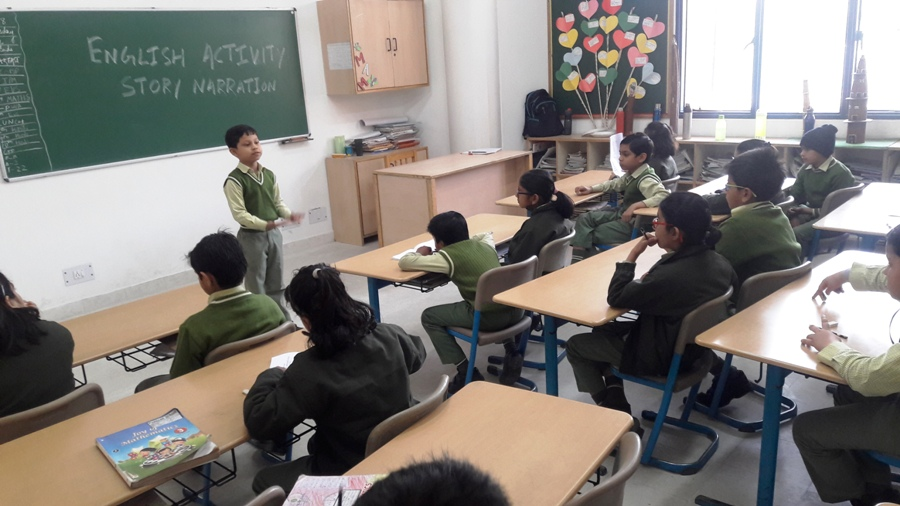 Story Narration on Animals - A Class Activity