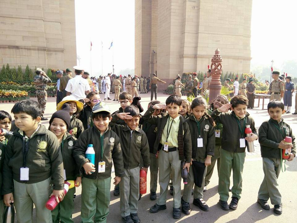 Educational Outing to India Gate on 23rd Nov 2017