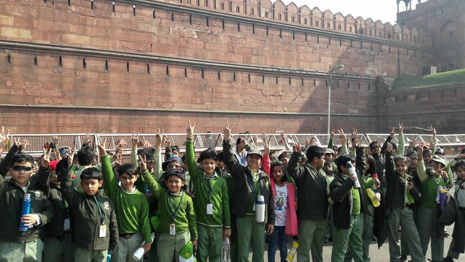 Educational Outing to Red Fort