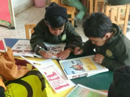 Magazine Letter Hunt Activity