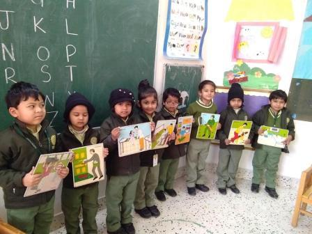 Show & Tell Activity on Community Helpers