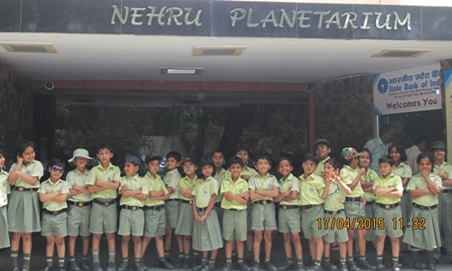 Visit to Nehru Planetarium and Teen Murti Bhawan