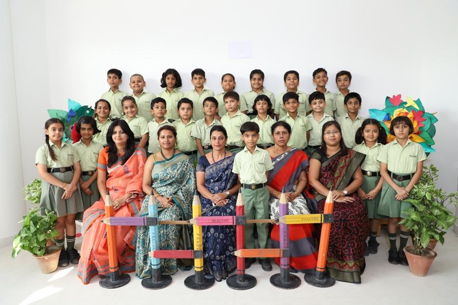 Class Photograph - Class IV A & B