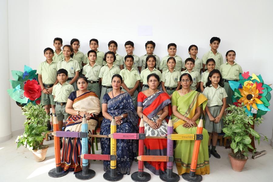 Class Photograph V A, B & C