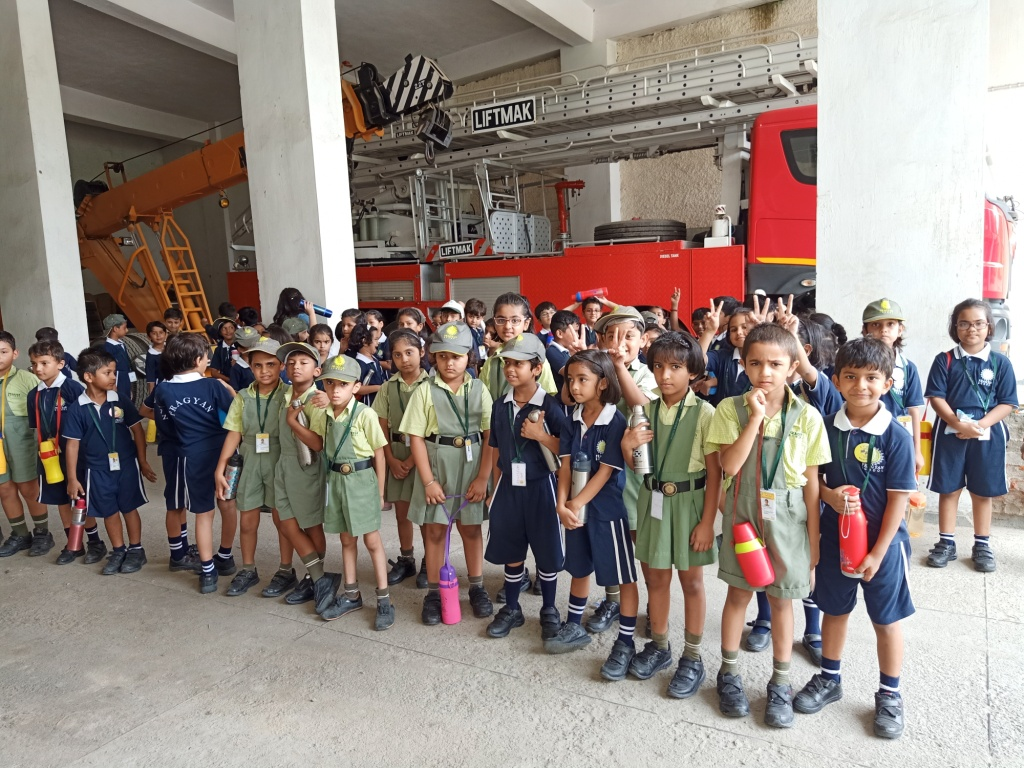 Class II Educational Outing to Fire Station