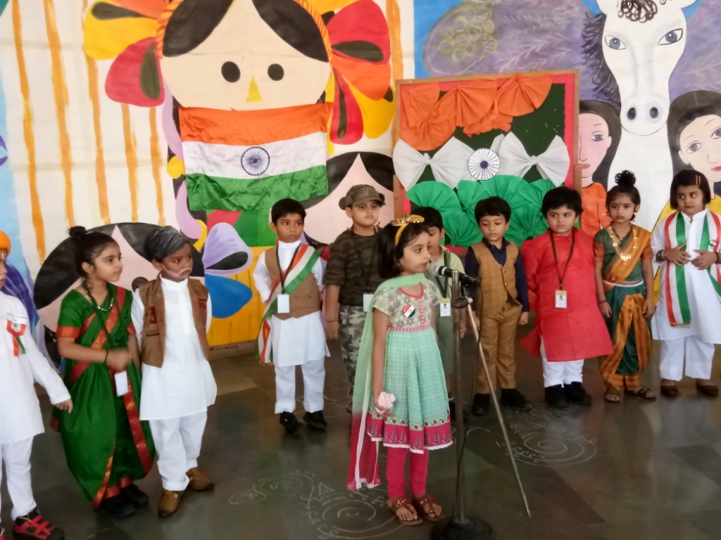 Special Assembly (Independence Day) conducted on 14/08/2019